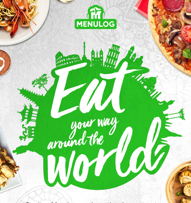 MENULOG PROMOTION – EAT YOUR WAY AROUND THE WORLD