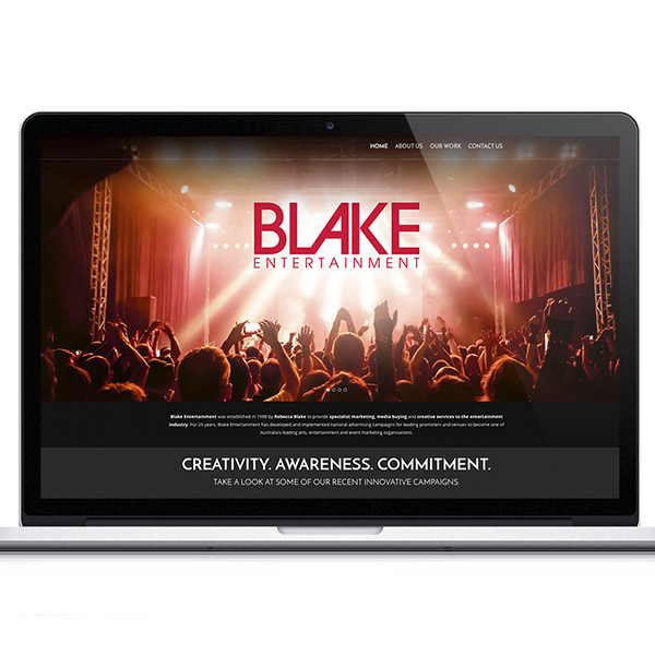 BLAKE ENTERTAINMENT WEBSITE